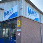 Gevelborden voor MACO Autoschadeherstel