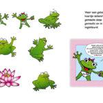 Tekeningen digitaal gemaakt in illustrator en ingekleurd voor geboortekaartje