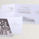 jubileumkaart 12,5 jaar getrouwd schuin gesneden. De foto op de kaart heb ik bij het bruidspaar thuis gemaakt