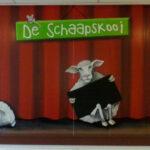 Op de School de schepershoek een muurschildering gemaakt