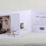 45 jarig huwelijk jubileum kaart 13 x 13 cm gevouwen