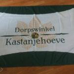 Vlag voor Dorpswinkel Kastanjehoeve